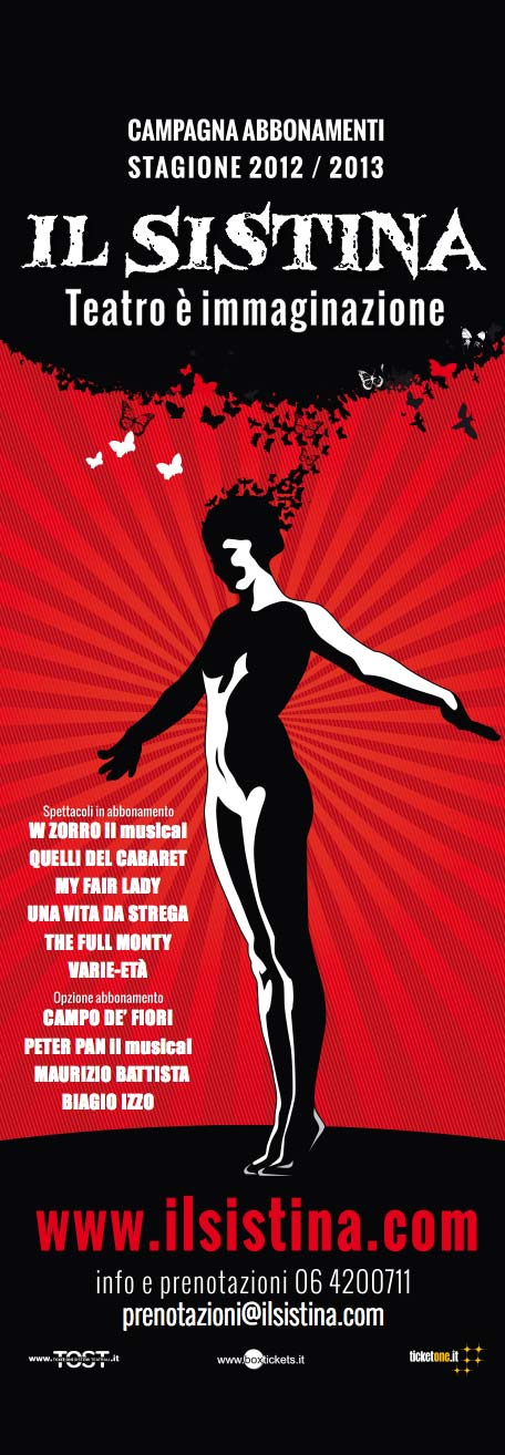 Il Sistina – Campagna abbonamenti 2012-2013