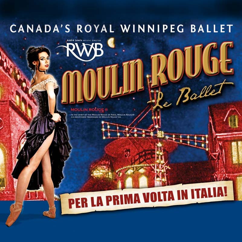 Moulin Rouge – Teatro Brancaccio